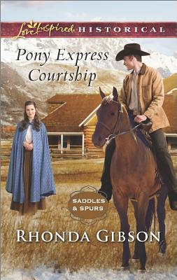 Image for Pony Express Courtship (Saddles and Spurs)