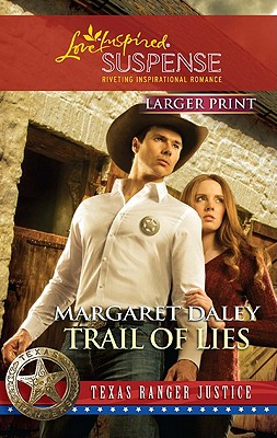 Image for Trail of Lies (Love Inspired Large Print Suspense)