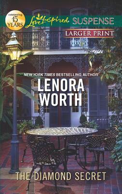 The Diamond Secret (Love Inspired Suspense (Large Print)), Lenora Worth