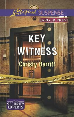 Key Witness (Love Inspired Suspense (Large Print)), Barritt, Christy