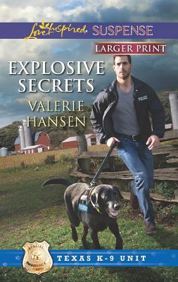 Image for Explosive Secrets (Love Inspired Suspense (Large Print))