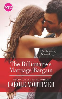 Image for The Billionaire's Marriage Bargain (Billionaire Collection)