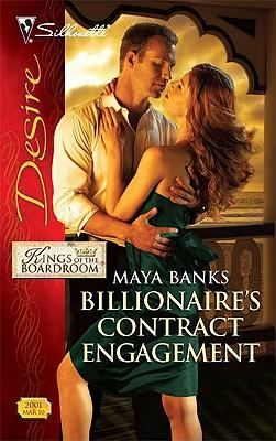 Billionaire's Contract Engagement (Silhouette Desire), Maya Banks