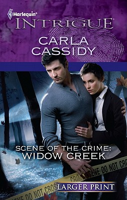 Image for Scene of the Crime: Widow Creek (Harlequin Intrigue (Larger Print))