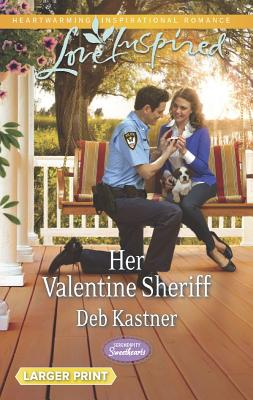 Image for Her Valentine Sheriff (Love Inspired LPSerendipity Sweethearts)
