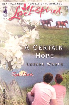 Image for A Certain Hope (Love Inspired)