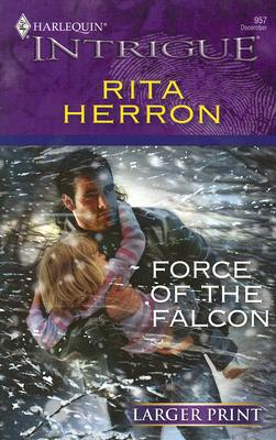 Image for Force Of The Falcon (Larger Print Intrigue)
