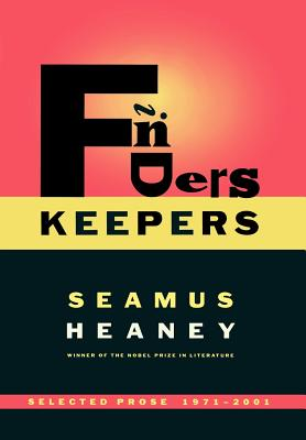 Image for Finders Keepers: Selected Prose 1971-2001
