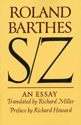 Image for S/Z: An Essay