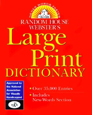 Image for Random House Webster's Large Print Dictionary