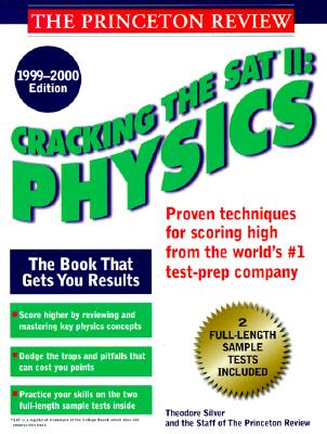 Image for Cracking the SAT II: Physics, 1999-2000 Edition