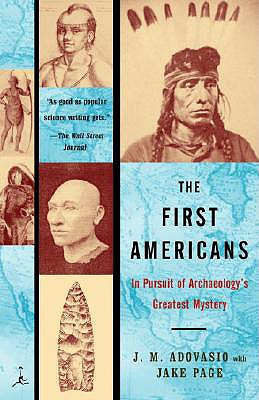 Image for The First Americans: In Pursuit of Archaeology's Greatest Mystery (Modern Library Paperbacks)
