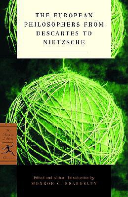 Image for The European Philosophers from Descartes to Nietzsche (Modern Library Classics)