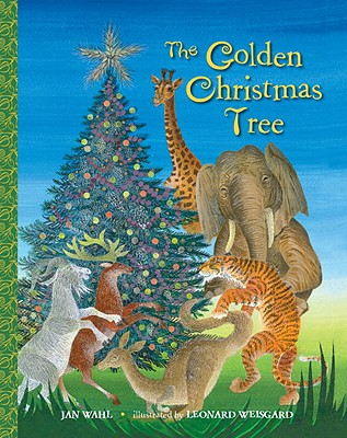 Image for The Golden Christmas Tree (Big Little Golden Book)