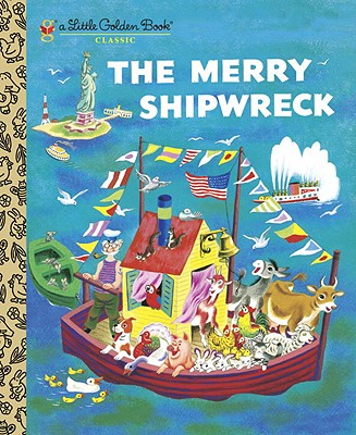 Image for The Merry Shipwreck (Little Golden Book)