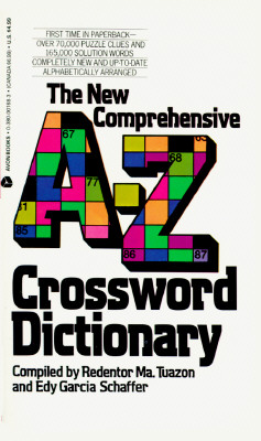 Image for The New Comprehensive A-Z Crossword Dictionary