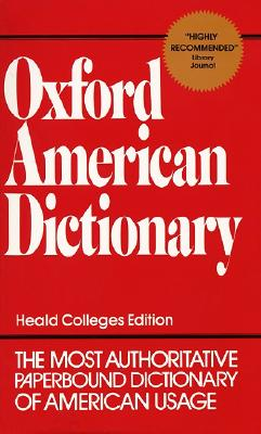 Oxford American Dictionary, EUGENE EHRLICH