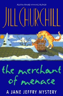 Image for The Merchant of Menace (Jane Jeffry Mysteries, No. 10)