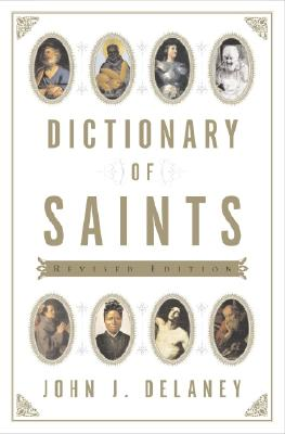 Image for Dictionary of Saints