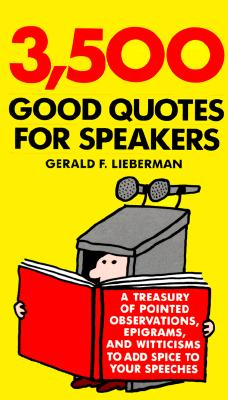 Image for 3,500 Good Quotes for Speakers