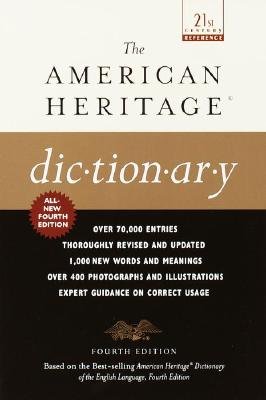 Image for American Heritage Dictionary