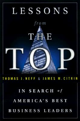 Image for Lessons from the Top: In Search of America's Best Business Leaders