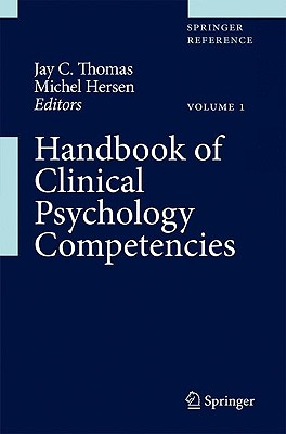 Handbook of Clinical Psychology Competencies (3 Volume Set)