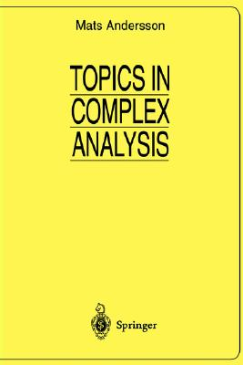 Topics in Complex Analysis (Universitext), Andersson, Mats