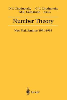 Image for Number Theory: New York Seminar, 1991-1995