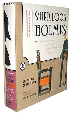 Image for The New Annotated Sherlock Holmes: The Novels (A Study in Scarlet, The Sign of Four, The Hound of the Baskervilles, The Valley of Fear)