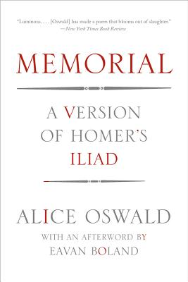 Image for Memorial: A Version of Homer's Iliad