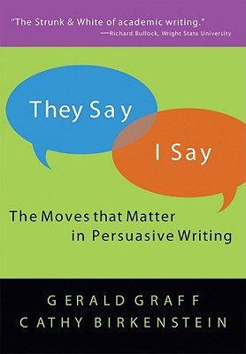 They Say/i Say, GERALD GRAFF