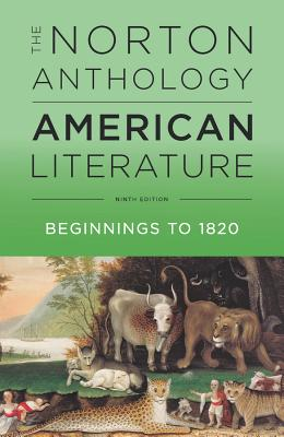 Image for The Norton Anthology of American Literature (Ninth Edition) (Vol. Volume A)