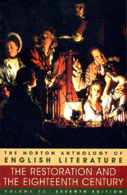 Image for NORTON ANTHOLOGY OF ENGLISH LITERATURE RESTORATION AND THE EIGHTEENTH CENTURY