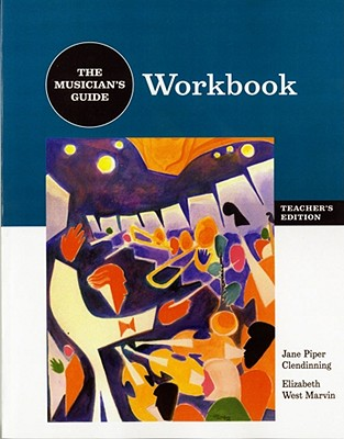Image for The Musician's Guide to Theory and Analysis: Workboook Answer Key