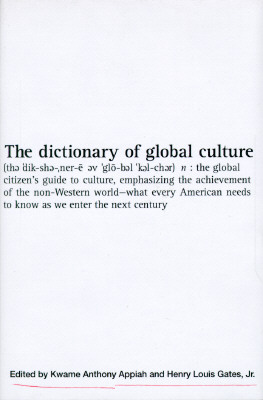 Image for The Dictionary of Global Culture