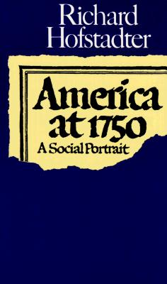 Image for America at 1750: A Social Portrait
