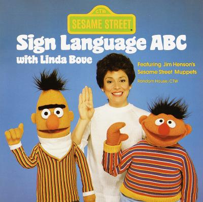 Image for Sesame Street Sign Language ABC with Linda Bove (Pictureback(R))