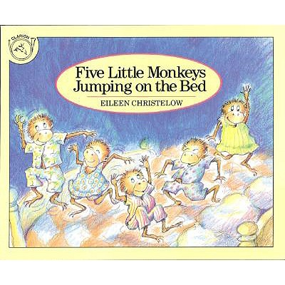 Image for Five Little Monkeys Jumping on the Bed (A Five Little Monkeys Story)