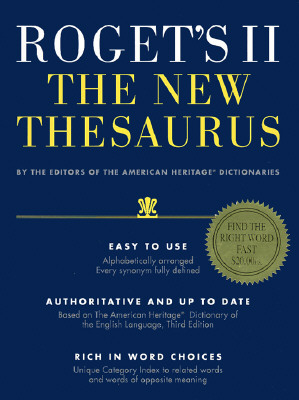 Image for Roget's II The New Thesaurus
