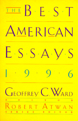 Image for The Best American Essays 1996