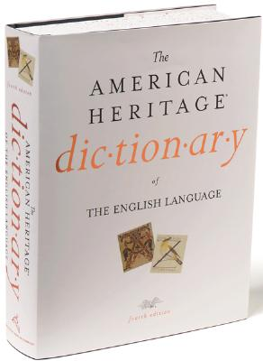 Image for The American Heritage Dictionary of the English Language