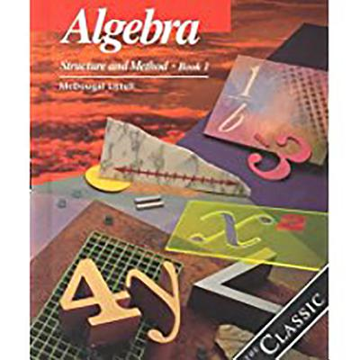 Image for Algebra: Structure and Method, Book 1