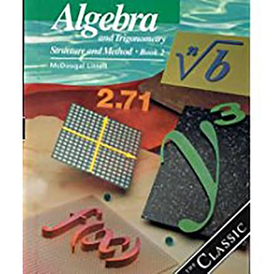 Image for Algebra and Trigonometry: Structure and Method, Book 2