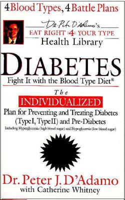 Image for DIABETES: FIGHT IT WITH THE BLOOD TYPE DIET