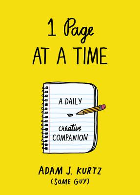 Image for 1 Page at a Time: A Daily Creative Companion
