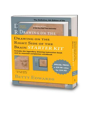 The Drawing on the Right Side of the Brain Starter Kit, Betty Edwards