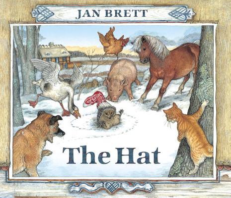The Hat: Oversized Board Book, Brett, Jan; Brett, Jan [Illustrator]