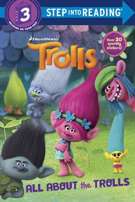 Image for Trolls Deluxe Step into Reading with Stickers (DreamWorks Trolls)