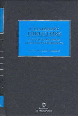 Image for Company Directors: Principles of Law and Corporate Governance
